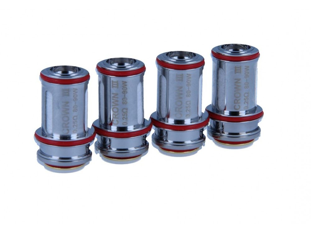 Uwell Crown 3 Parallel Heads (4 Stück pro Packung)